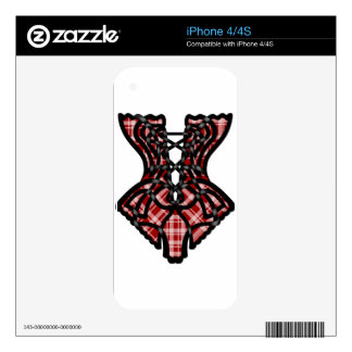 Stacey's Corset Skins For The iPhone 4S