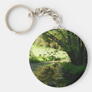 Stacey's Floral Design's Basic Round Button Keychain