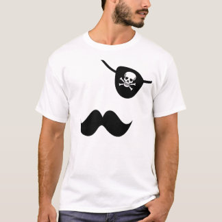 Stache and Patch T-Shirt