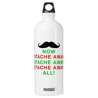 Stache Away All Aluminum Water Bottle