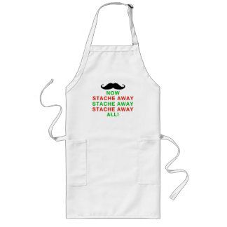 Stache Away All Long Apron