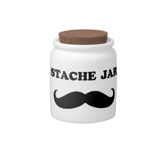 Stache Candy Dishes