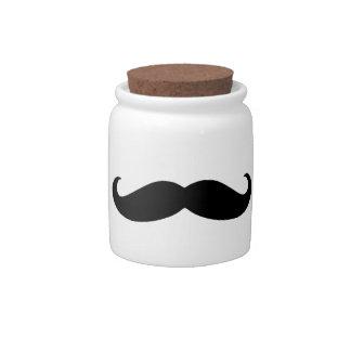 Stache Jar Candy Dish