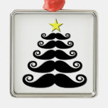 Stache-mas Tree Christmas Tree Ornament