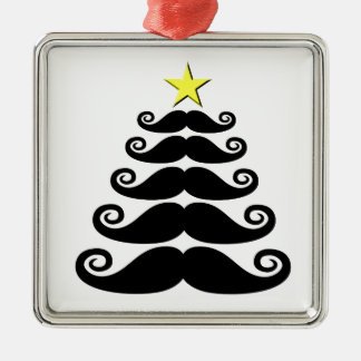 Stache-mas Tree Christmas Tree Ornament