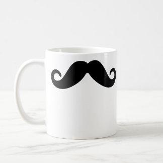 Stache Classic White Coffee Mug