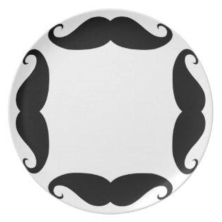 'Stache plate