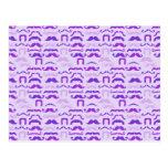 Stache púrpura postal
