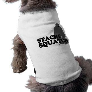 Stache Squatch Pet Shirt