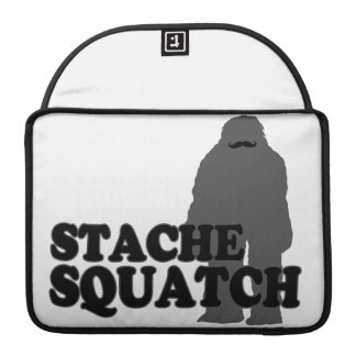 Stache Squatch Sleeve For MacBooks