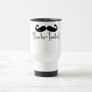 'Stache-tastic 15 Oz Stainless Steel Travel Mug