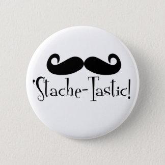 'Stache-tastic Button