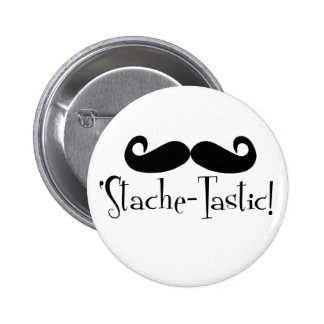 'Stache-tastic Buttons