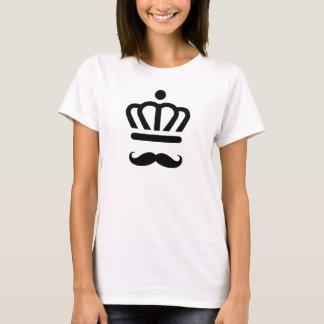 Stache Wearing  A Crown Shirt