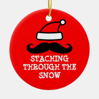 Staching a través del ornamento del navidad de la  ornamento de reyes magos