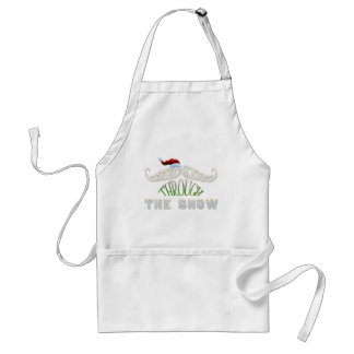 Staching Through the Snow Adult Apron