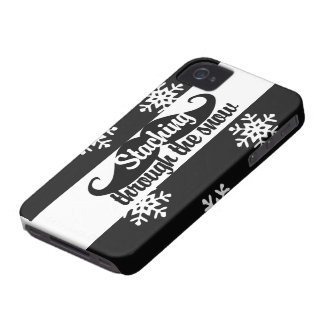 Staching through the snow Case-Mate iPhone 4 case