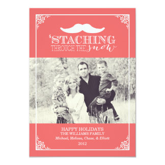 Staching Through The Snow | Christmas Card