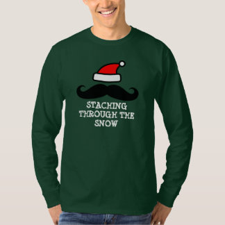 Staching through the snow | Cute Christmas sweater