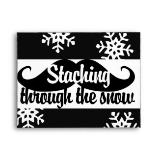 Staching through the snow envelope