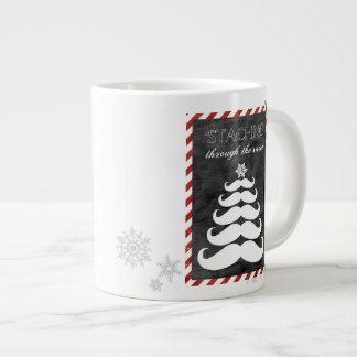 'Staching Through the Snow, Mug