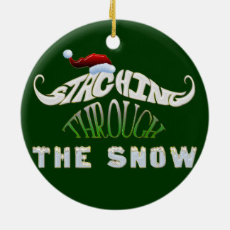 Staching Through the Snow Ornaments