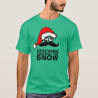 Staching Through The Snow Silly Eyes Shirt