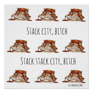 Stack City Poster
