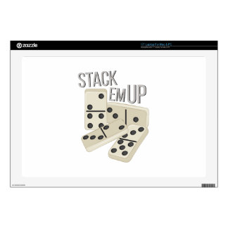 """Stack Em Up 17"""" Laptop Skins"""