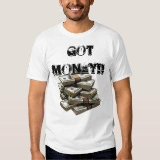 stack-o-money,  got money!! t-shirt
