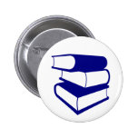 Stack Of Blue Books Pins