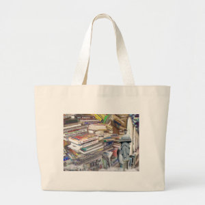 Stack of Books bag