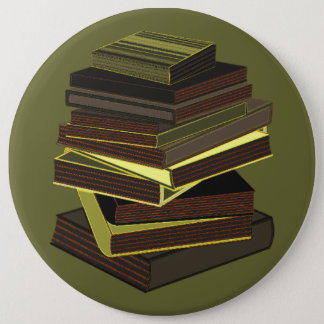 Stack Of Books - Green Button