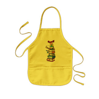 Stack of Books Kids' Apron
