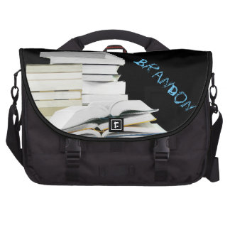 Stack of Books Laptop Bag Template
