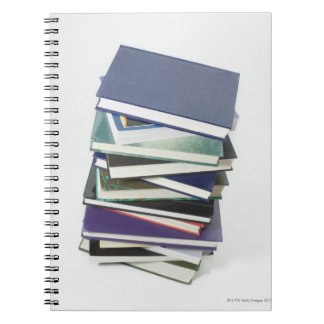Stack of books note books