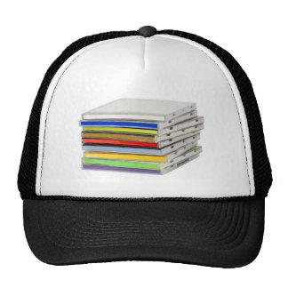 Stack of CD casings Trucker Hat