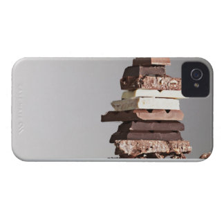 Stack of chocolate bars Case-Mate iPhone 4 case
