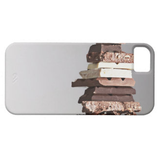 Stack of chocolate bars iPhone SE/5/5s case