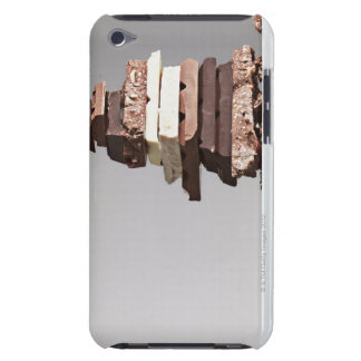 Stack of chocolate bars iPod touch case