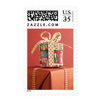Stack of Christmas gifts Postage