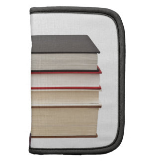 Stack of four books planners