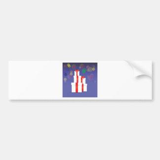 Stack of Gift Bumper Sticker