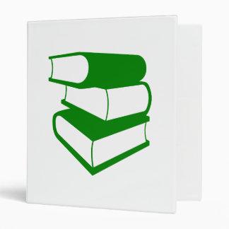Stack Of Green Books Binder