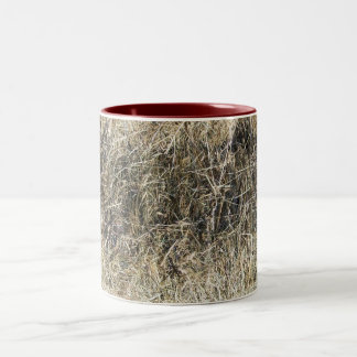 Stack of Hay Two-Tone Coffee Mug