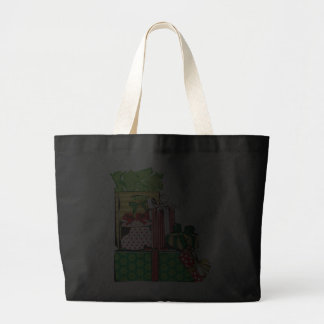 Stack of Holiday Gifts Tote Bag