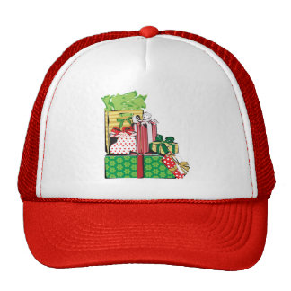 Stack of Holiday Gifts Hats