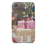 Stack of holiday gifts iPhone 3 covers