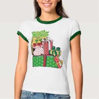 Stack of Holiday Gifts T-Shirt