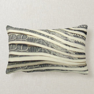 Stack of Money Throw Pillow